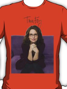 Tina Fey photo + Signature T-Shirt