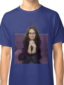 Tina Fey photo + Signature Classic T-Shirt
