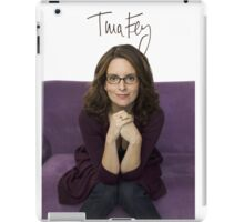 Tina Fey photo + Signature iPad Case/Skin