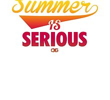 Summer IS Serious Script | Gradient by OGedits