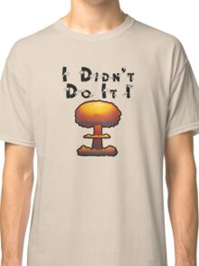 I DIDN'T DO IT by Chillee Wilson Classic T-Shirt