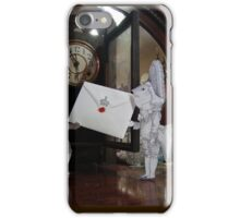 Invitation from the Queen iPhone Case/Skin