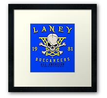 Laney Buccaneers  Framed Print