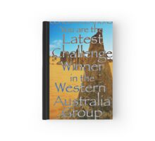 Banner entry Hardcover Journal