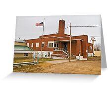 Garfield County (Montana) Court House Greeting Card
