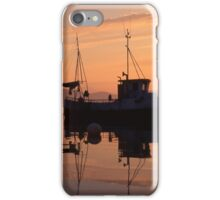 Fishing boat in Norway iPhone Case/Skin