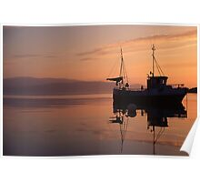 Fishing boat in Norway Poster