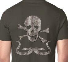 Snakeskin Skull T Shirt Unisex T-Shirt