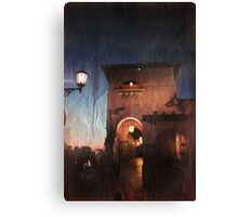 The Night Rolls In Canvas Print