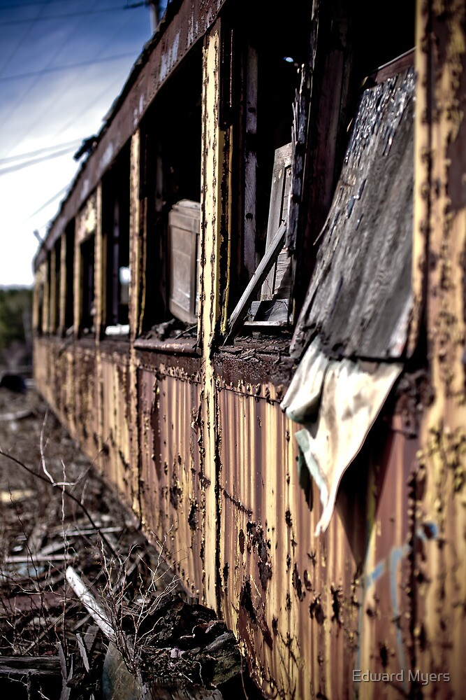Urban Decay - Train 2 by Edward Myers