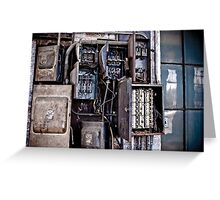 Urban Decay - Fuse Box Greeting Card