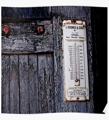 Urban Decay - Thermometer Poster