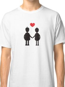 Robots in Love Classic T-Shirt