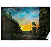 Morning has broken over Bremen Poster