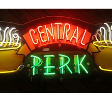 'Friends' Central Perk Sign Photographic Print