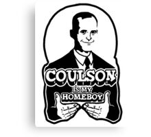 Coulson is My Homeboy (Outline) Canvas Print