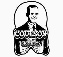 Coulson is My Homeboy (Outline) Womens Fitted T-Shirt