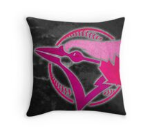 Toronto Blue Jays in Pink Throw Pillow