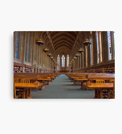 Suzzallo Library (University of Washington) (NON HDR version) Canvas Print