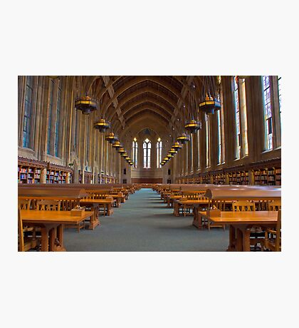 Suzzallo Library (University of Washington) (NON HDR version) Photographic Print