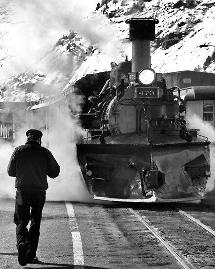Engine 473 by Mitchell Tillison