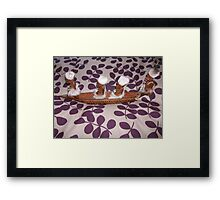 African Boat People 1 Framed Print