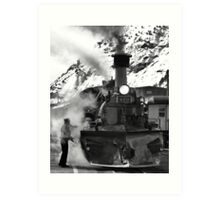 Venting Engine 473 Art Print