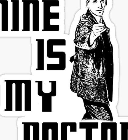 nine is my doctor Sticker