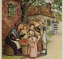 Kate Greenaway Collection 1905 0305 The Cherry Woman by wetdryvac