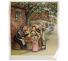 Kate Greenaway Collection 1905 0305 The Cherry Woman Poster