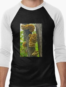 Mushrooms Galore Men's Baseball ¾ T-Shirt