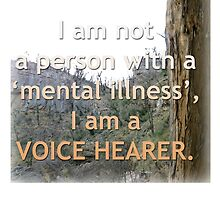 I am a voice hearer by Initially NO