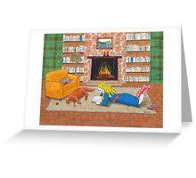 Cozy home Greeting Card