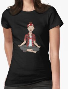 Namast-eh Womens Fitted T-Shirt
