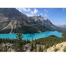 Peyto Lake, Banff National Park Photographic Print