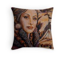 Sandstone ~ Wrapped in Tradition Series Throw Pillow