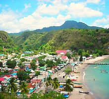 Anse La Raye Fishing Village by TravelGyal