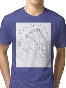 Turn into a butterfly Tri-blend T-Shirt