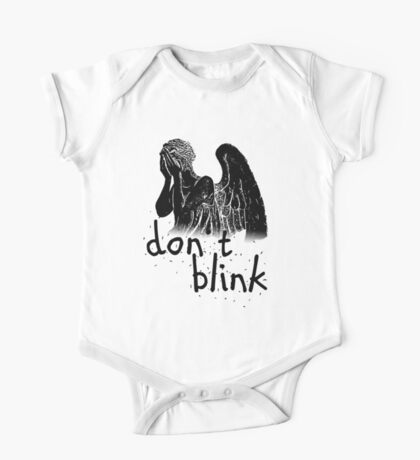 don't blink! One Piece - Short Sleeve