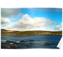 At Boddam,Near Sumburgh,Shetland Poster