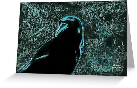 Night Crow by Dawn B Davies-McIninch