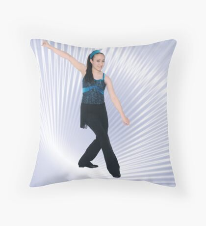 Ta  -Da Throw Pillow