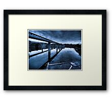 Death to abandoned #9 Framed Print