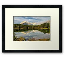 Herbert Lake, Banff NP Framed Print