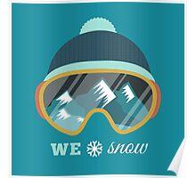 Love Snow Poster