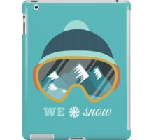 Love Snow iPad Case/Skin