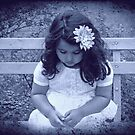 a little girl with the blues by Angel Warda