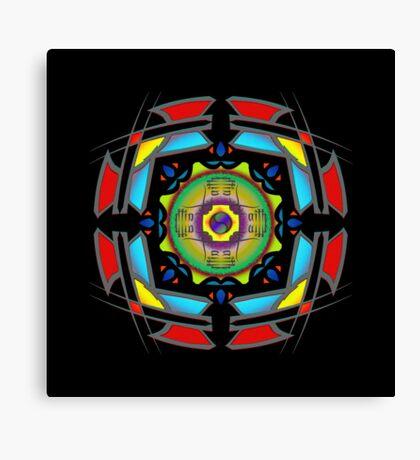 Faith MandalaGram Canvas Print