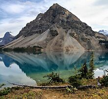 Crowfoot Mountain, Banff NP by Teresa Zieba