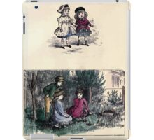 The Little Folks Painting book by George Weatherly and Kate Greenaway 0057 iPad Case/Skin